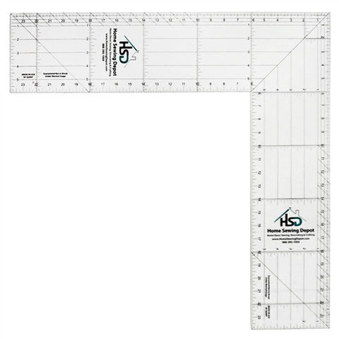 "16"" & 24""Folding Easy Square Ruler"