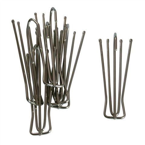 4 Prong Drapery Hooks Long Neck
