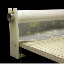 Table Clamp Fabric Dispenser For Bolts Of Heavy Fabric