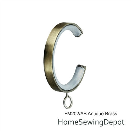 Aria C-Ring with Eyelet 1 1/8""