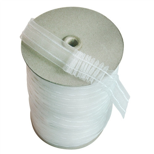Transulcent Mini Pleat Tape, 1 Inch