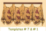 Scallop Valance Template #1