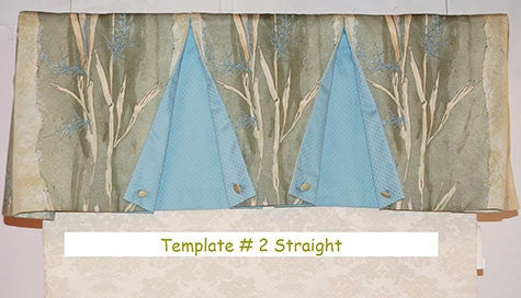Straight Valance Template # 2