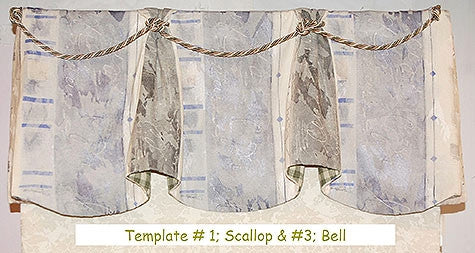Bell Valance Template