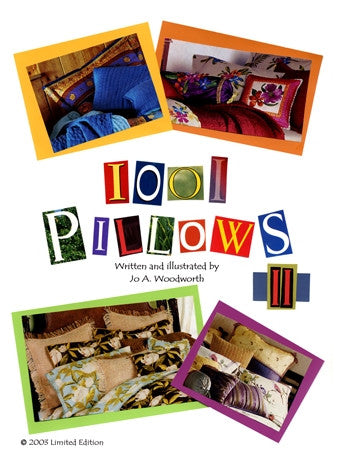1001 Pillow Sketch Designs #2  CD
