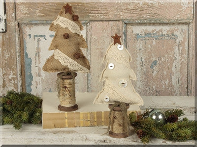 Small Button Tree Spool -Set 2