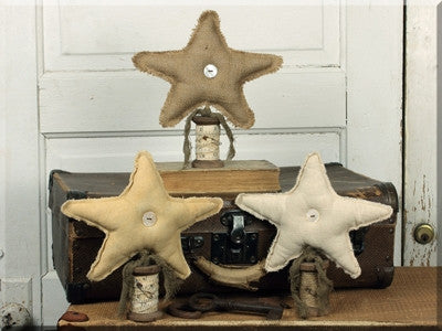 Small Vintage Star on Spool Base Set 3