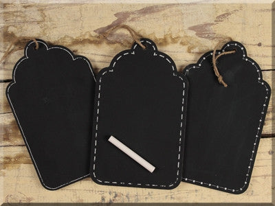 Small Hanging Chalkboard Set 3