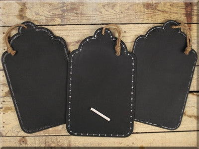 Large Hanging Chalkboard Set 3