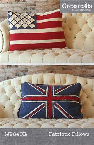 Patriotic Pillows by Indygo Junction