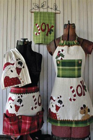 Just 2 Tea Towels Christmas Set