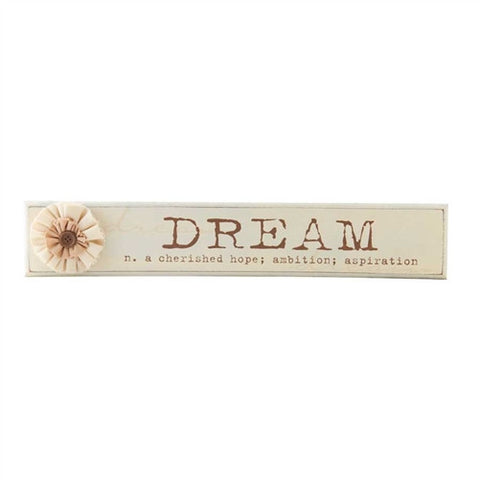 "Vintage Dream Sign 22"" Long"