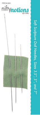 Doll Needles 3/Pkg
