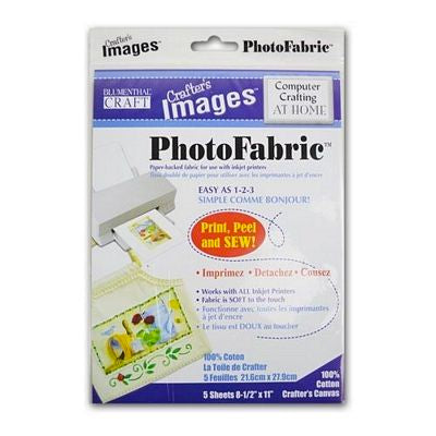 Crafters Image Photo Fabric for Inkjets