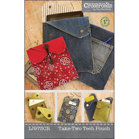 IJ973 Take Two Tech Pouch by Indygo Junction