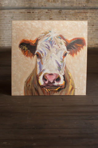 Painting - Happy Cow