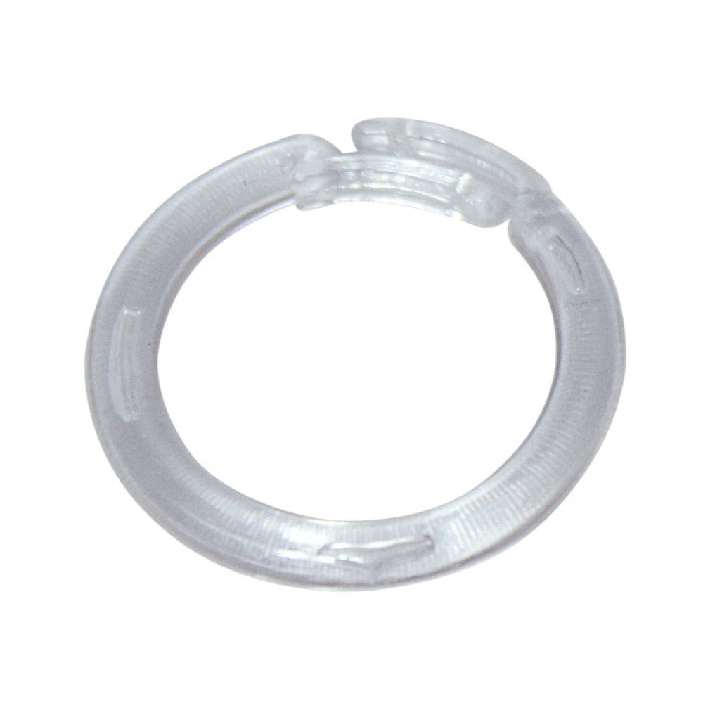 belts plastic dee ring for rings o open webbing black pin