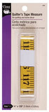 DRITZ QUILTERS TAPE MEASURE