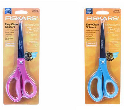 "Fiskars 8"" Titainum Antiadhesive Scissors"