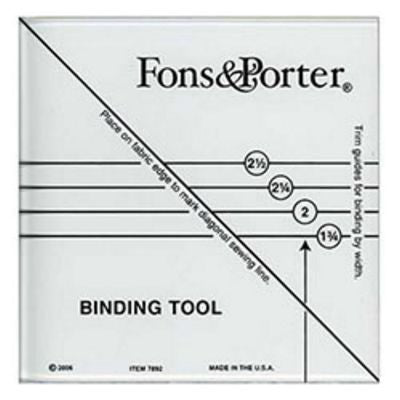 Binding Tool by Fonds & Porter