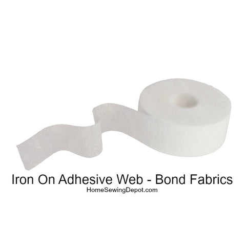 Iron On Adhesive Web Narrow Widths