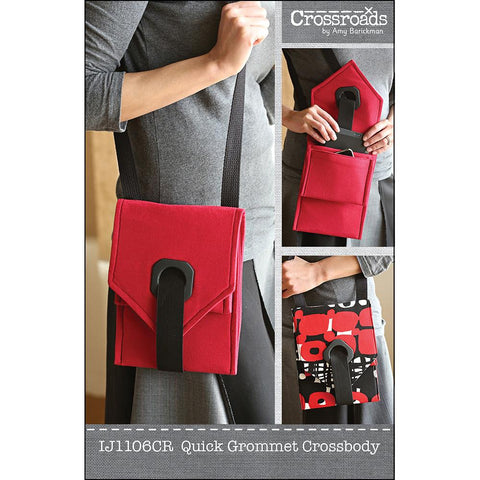 Quick Grommet Crossbody by Indygo Junction