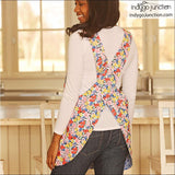 IJ1132 Crossback Reversible Aprons by Indygo Junction