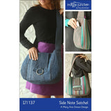 IJ1137 Side Note Satchel by Indygo Junction