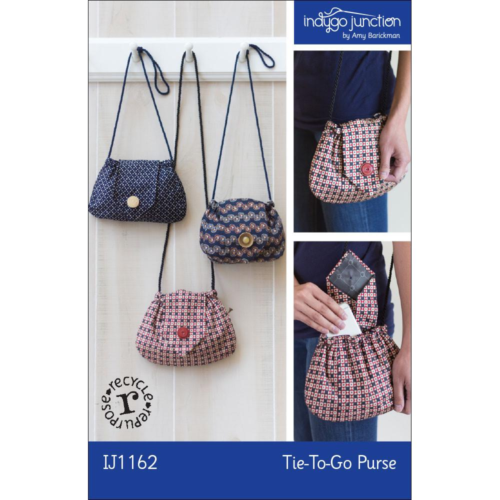 IJ1162 Tie To Go Purse by Indygo Junction