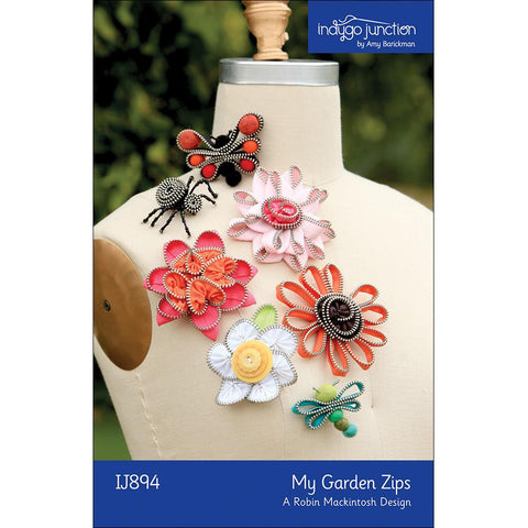 My Garden Zips by Indygo Junction