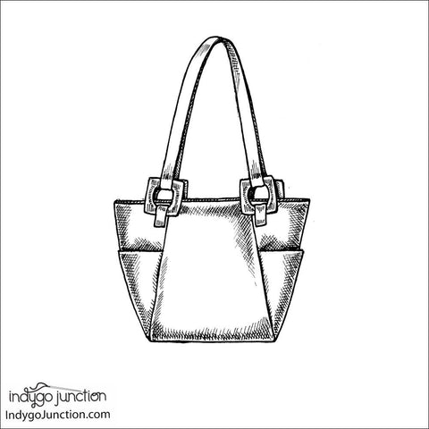 IJ927 Urban Tote by Indygo Junction