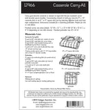 IJ966 Casserole Carry-All by Indygo Junction