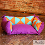 Pieced Pet Pillows by Indygo Junction