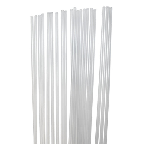 "Clear Roman Shade Ribs 3/16""x 5'"