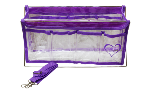 Handy Caddy Delux Purple Organizer 8 Pockets