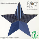 Wall Art Stars Pattern - Fabriflair