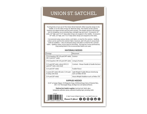Union St. Satchel