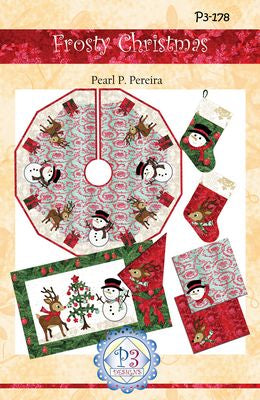 Frosty Christmas Skirt Pattern