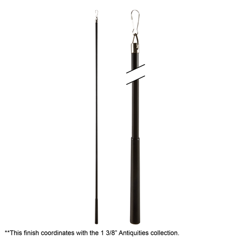 Metal Baton With Steel Clip