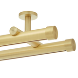 Double Rod Kit | Ceiling Mount