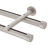 H Rail Double Rod Kit | Wall Mount
