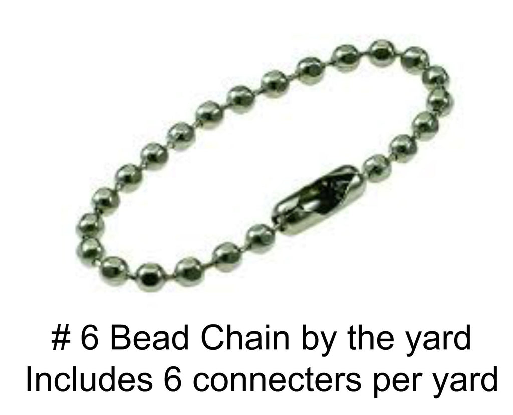 Grom A Link # 6 Bead Chain for Grom A Link By The Yard