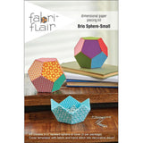 Faceted Spheres & Bowl Pattern - Fabriflair
