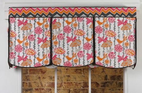Laceup Valance by Pate Meadows