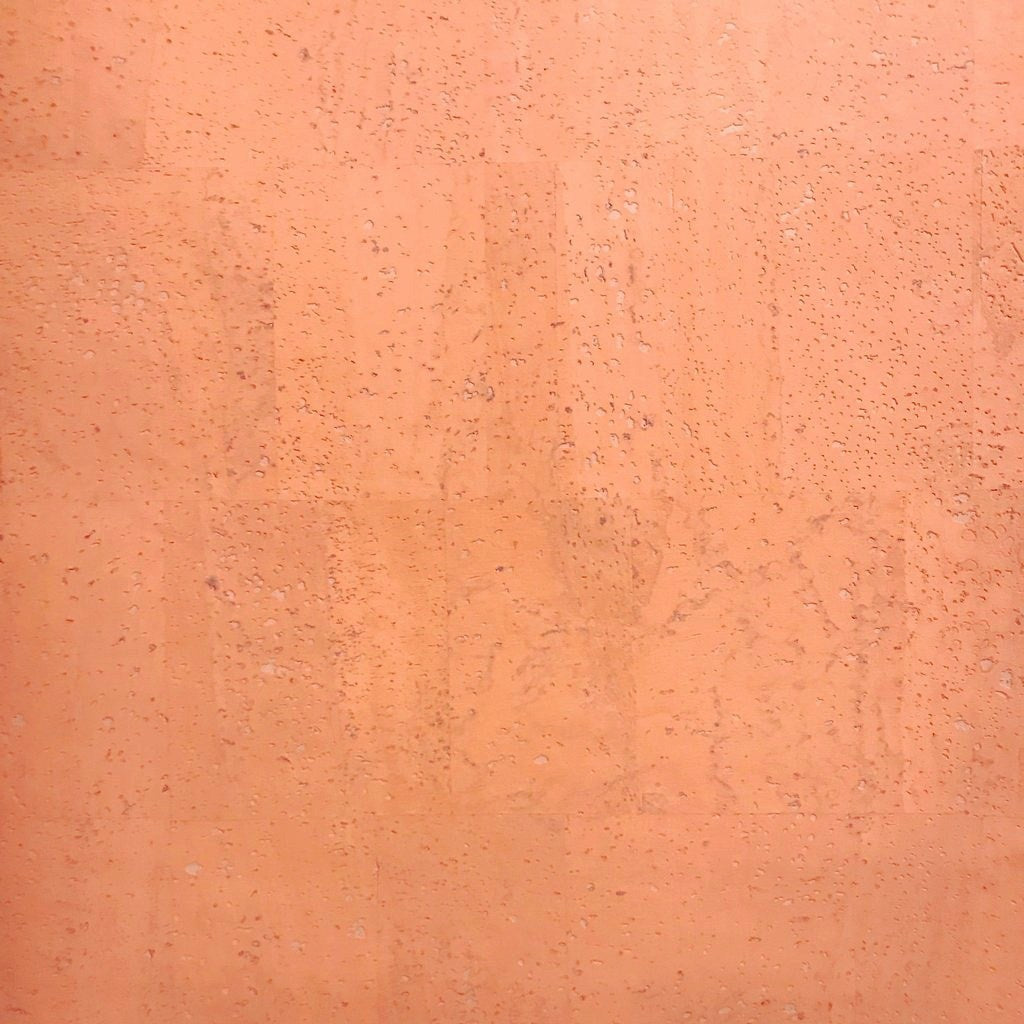 Peach Cork Fabric