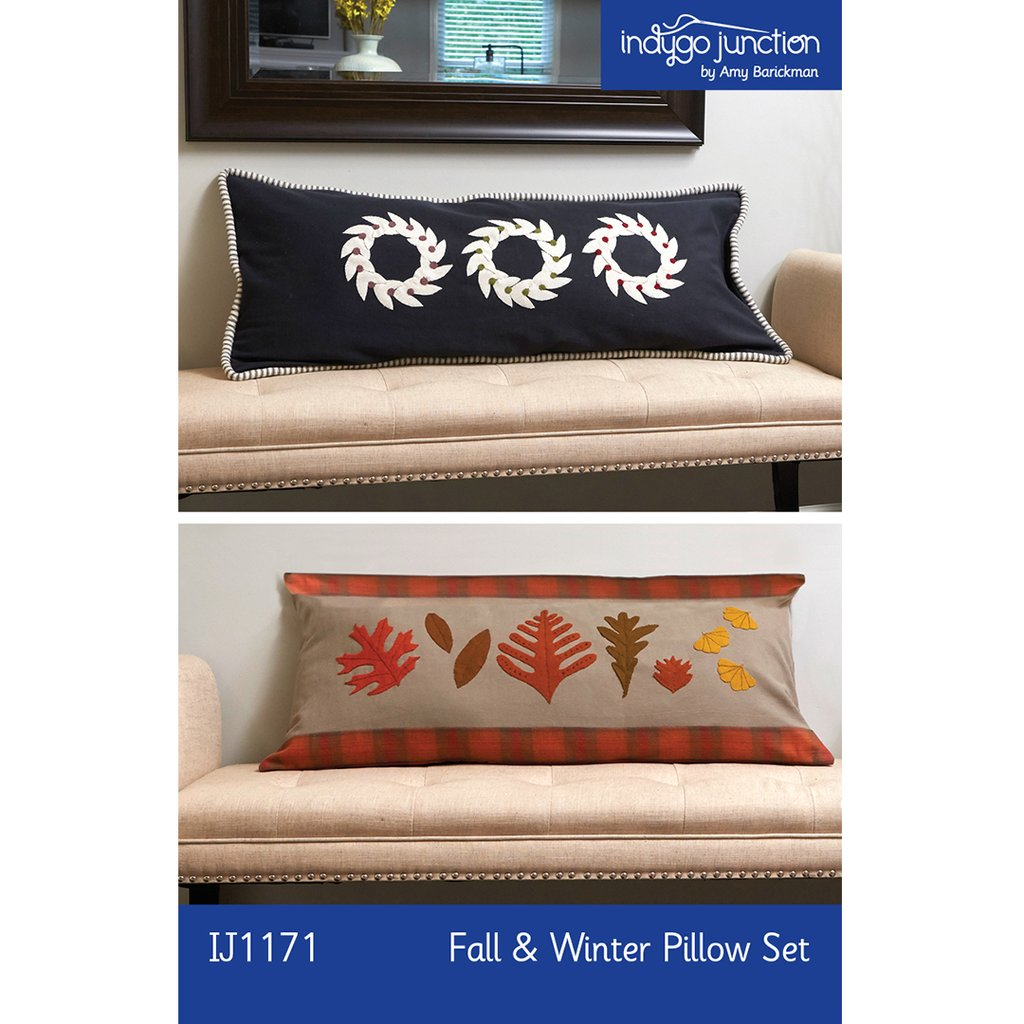 IJ1171 Fall & Winter Pillow Set