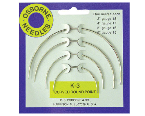 Curve Round Point Needles By CSOsborne