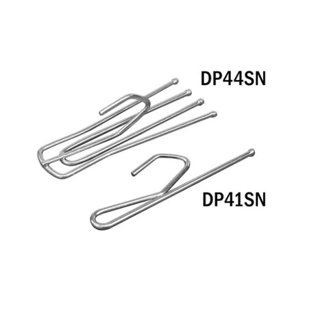 Four Prong  Drapery Hooks Short Neck
