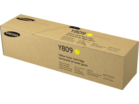 HP Samsung CLT-Y809S Yellow Toner Cartridge
