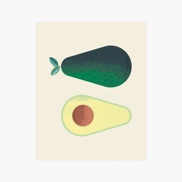 Avocado Giclée Art Print